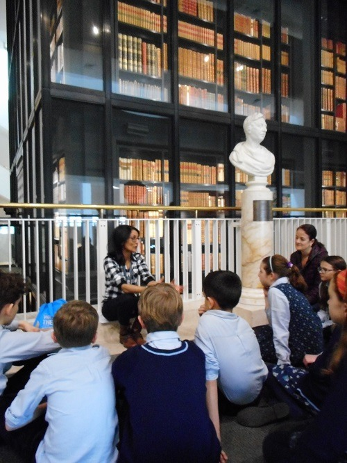 British-library-Parsons-Green-Prep-School-Fulham-SW6-London-teaching-education