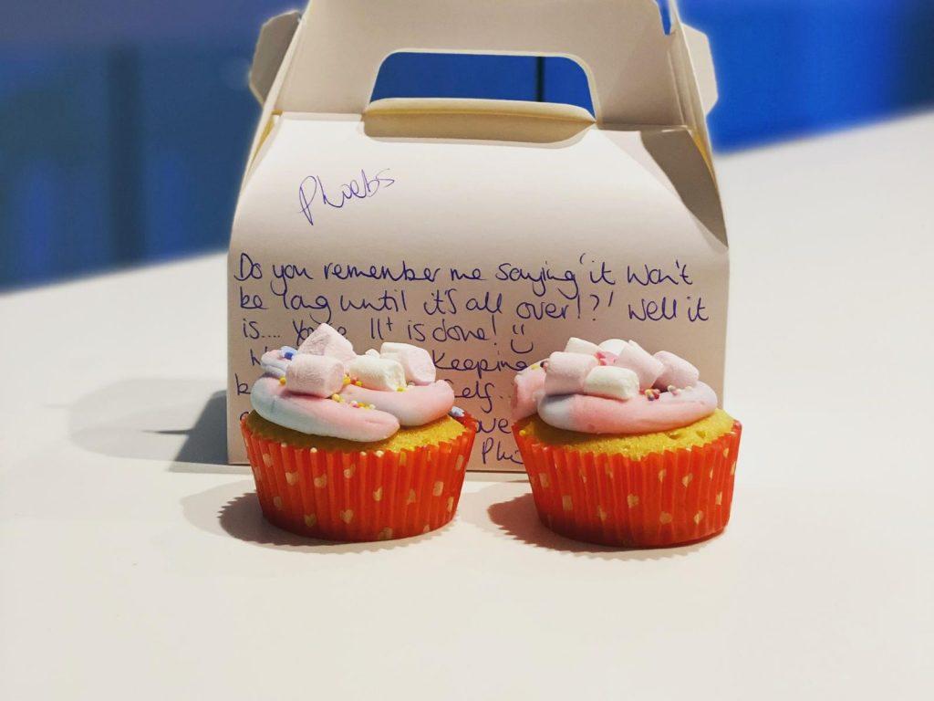 cupcakes as an exam treat