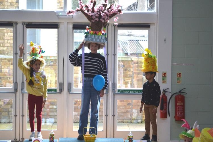 Easter Bonnet School winners