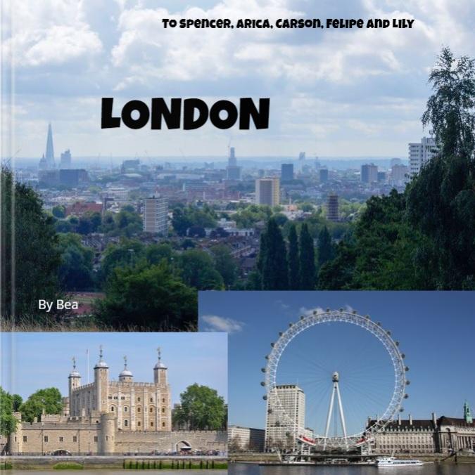 Year 6 Parsons Green Prep School guidebooks to London