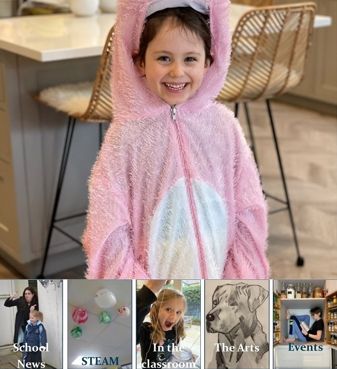 young girl wearing fluffy onesie