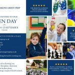 Parsons Green Prep School Open Day Poster