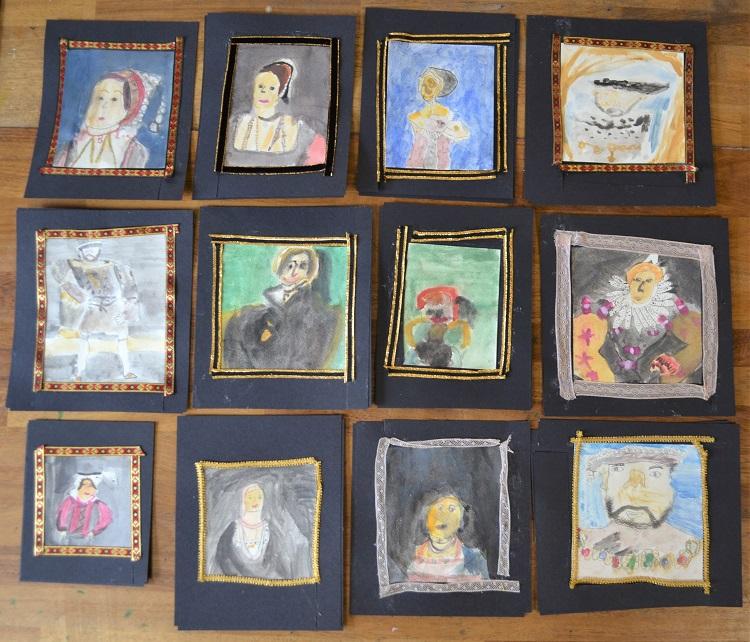 Parsons Green Prep School Tudors Artwork